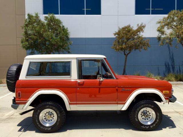 1974 Ford Bronco California Ranger 4x4 All Original 302 At ...