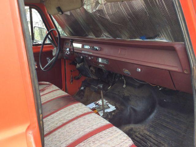 1974 international 4x4 pickup truck