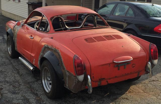 Used Cars For Sale Dayton Ohio >> 1974 Rat Rod Volkswagen Karmann Ghia Mustang Hot Rod Rat ...