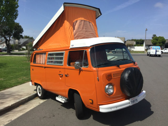 1974 Volkswagen Westfalia Camper Bus Vw Restored Original