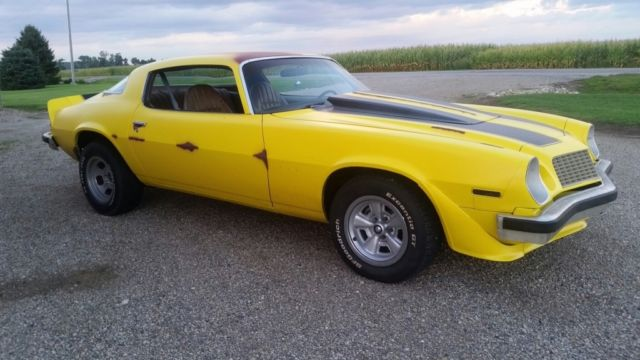 1975 chevrolet camaro z28 bumblebee transformer. Black Bedroom Furniture Sets. Home Design Ideas
