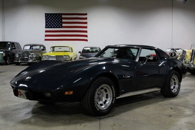 1975 Chevrolet Corvette 22372 Miles Dark Blue Coupe 383ci