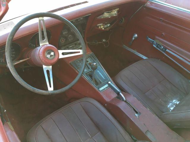 1975 Corvette Stingray 70s Custom Very Rare Flip Nose