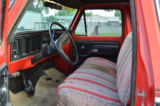 1975 Ford F-250 Supercab Pickup
