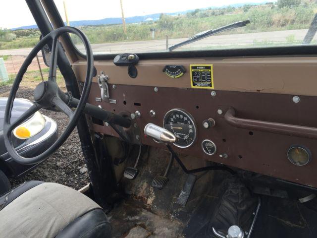 1975 Jeep Cj5 With Vortec V6 Swap