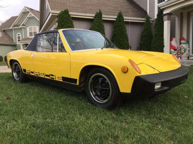 1975 porsche 914 nice original car. Black Bedroom Furniture Sets. Home Design Ideas