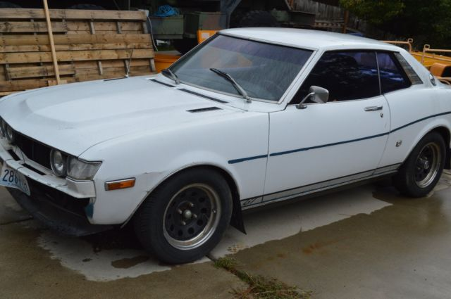 1975 toyota celica gt coupe ra22 20r w50 5 speed no reserve. Black Bedroom Furniture Sets. Home Design Ideas
