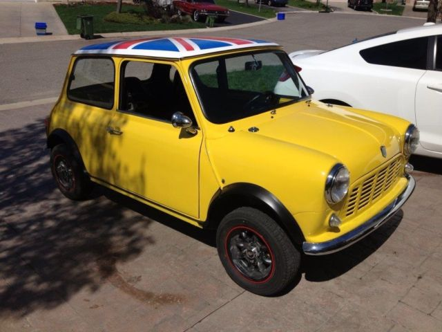 Austin Mini Classic Car And Parts For Sale Canada Used