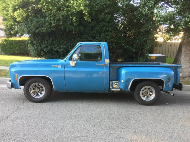 1976 C10 Silverado Short Bed Chevy Pick Up Truck Matching