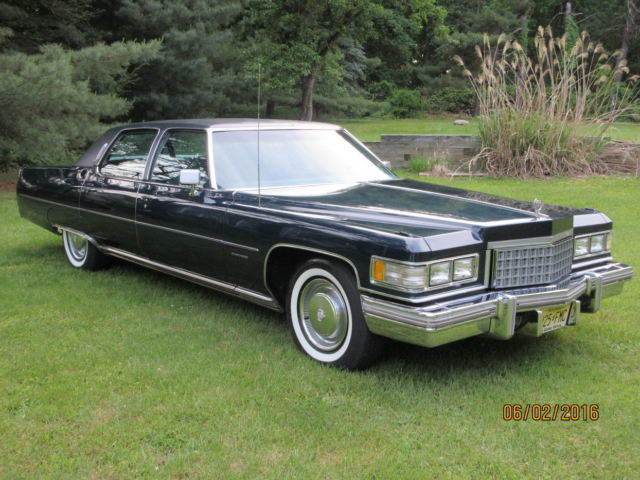 1976 cadillac fleetwood brougham commodore blue. Cars Review. Best American Auto & Cars Review