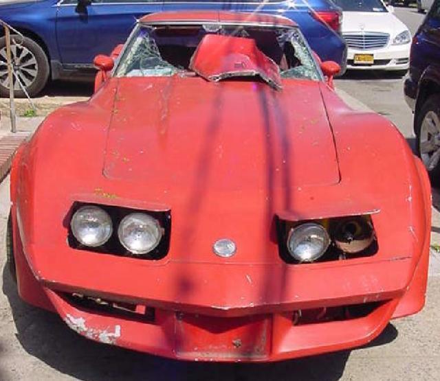 1976 Corvette Stingray No Reserve Parts Car