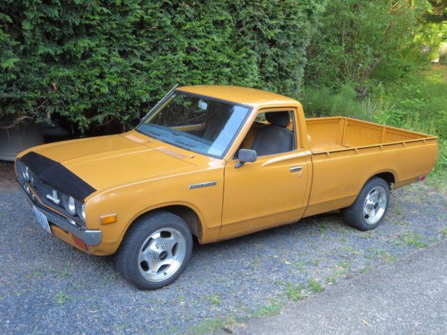 1976 Datsun 620 Regular Cab Long Bed (7 ft) Pickup Truck