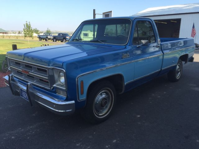 1976 Gmc 1  2 Ton Pick Up
