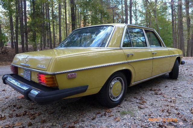 1976 mercedes 240 d diesel for Mercedes benz 240 diesel