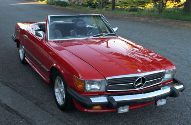 1976 mercedes 450sl amg style 380sl 500sl 560sl for Mercedes benz tune up cost