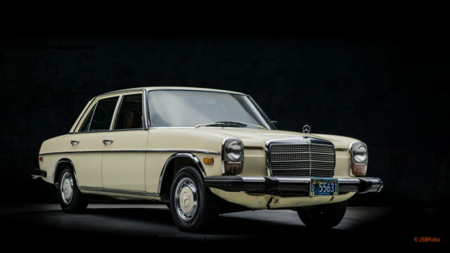 1976 Mercedes Benz 240d Manual Lots Of Records Classic