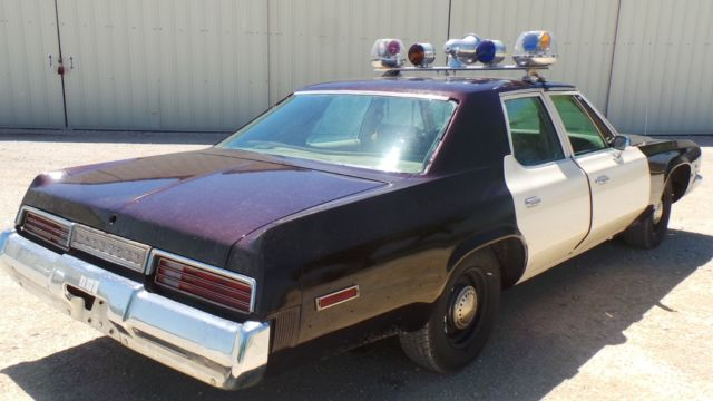 Cars For Sale San Antonio >> 1976 POLICE CAR, PLYMOUTH FURY 440HP, DOCUMENTED TEXAS ...