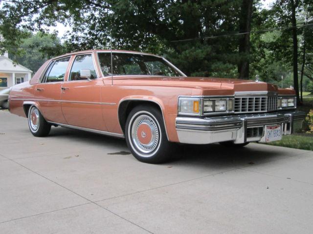 1977 Cadillac Deville D Elegance Sedan 4 Door 7 0l