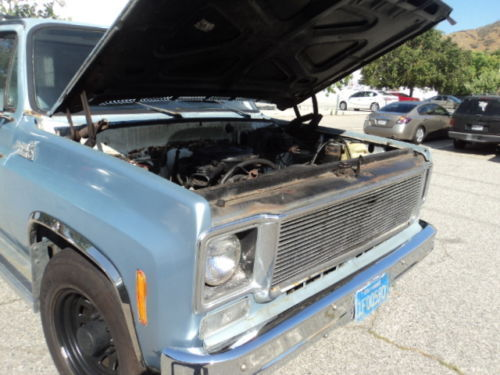 1977 Chevrolet Custom Deluxe 20 C20, 2wd with camper NO RESERVE