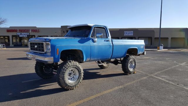 1977 Chevy C10, 8 inch lifted truck
