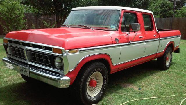 1977 ford f250 crew cab ranger xlt. Black Bedroom Furniture Sets. Home Design Ideas