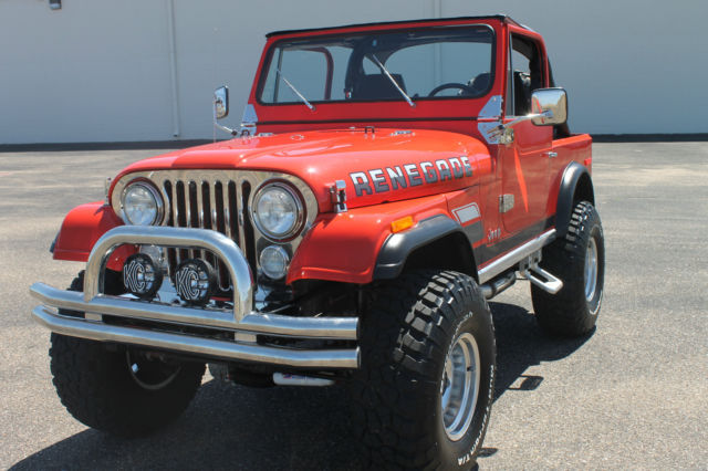 1977 Jeep Cj7 Renegade