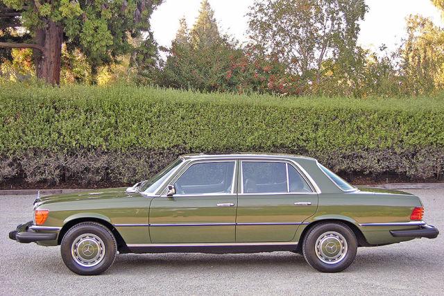 1977 mercedes 280se 44k original miles 1 ca owner for Mercedes benz burlingame