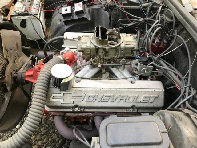 Chevy Malibu Drag Car Hot Rat Rod Powerglide Brake Msd Holley Nhra