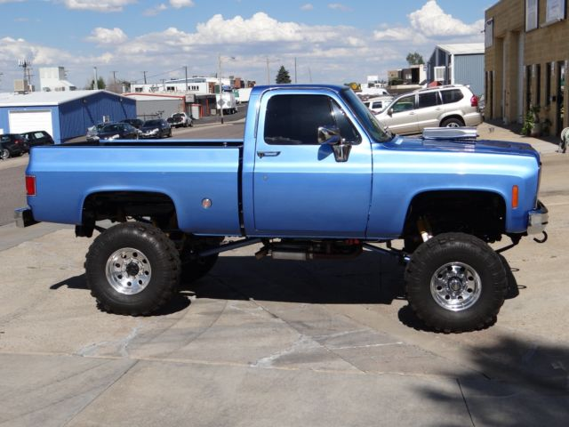 1978 chevy truck short bed full restoration done supercharged 454 lifted