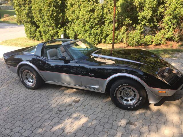 1978 corvette pace car l82. Black Bedroom Furniture Sets. Home Design Ideas