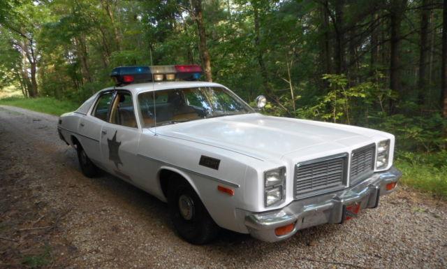 1978 dodge monaco rosco enos dukes of hazzard police cop car replica signed. Black Bedroom Furniture Sets. Home Design Ideas