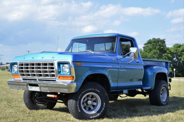 1978 Ford F 150 Custom Standard Cab Pickup 2 Door 5 8l 4x4