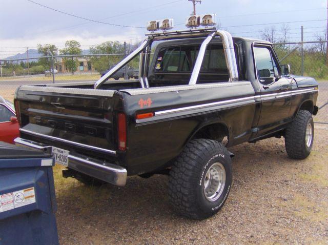 1978 Ford F150 Ranger 351m 4x4 4speed 4 Inch Lift Truck