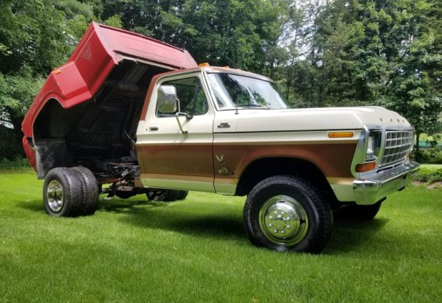 1978 Ford F350 4x4 429 w/dual rear wheels and dump bed 73 ...