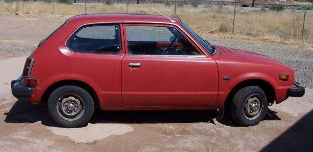 1978 honda civic cvcc 3 door hatchback for 1978 honda civic
