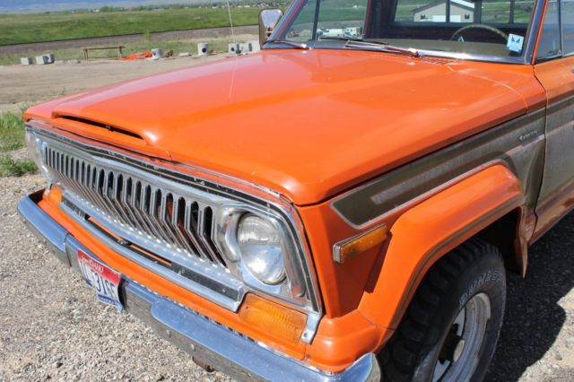 1978 Jeep J10, Honcho, Levi's Edition,4x4, Original Paint!! NO RESERVE ...