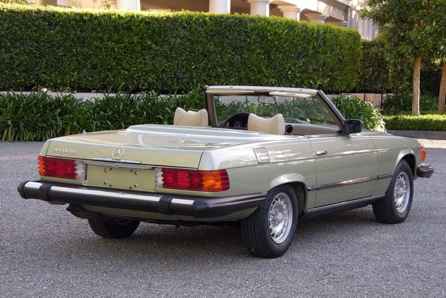 1978 mercedes benz 450sl 35k miles original paint books On mercedes benz paint warranty