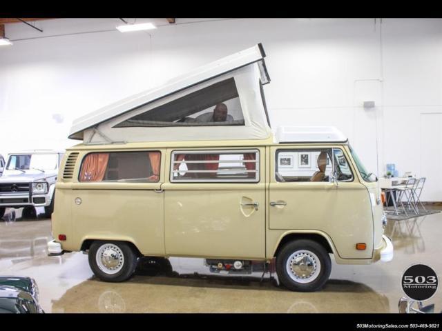 1978 volkswagen bus vanagon westfalia 4 speed manual 3. Black Bedroom Furniture Sets. Home Design Ideas