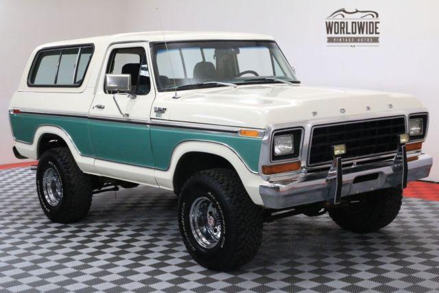 1978 white ranger xlt restored collector grade