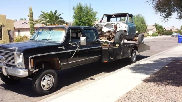 Front Wheel Drive Hauler : Chevy ton car hauler k crew cab