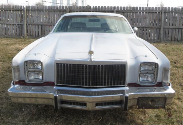 Zerr Auto Sales >> 1979 Chrysler Cordoba