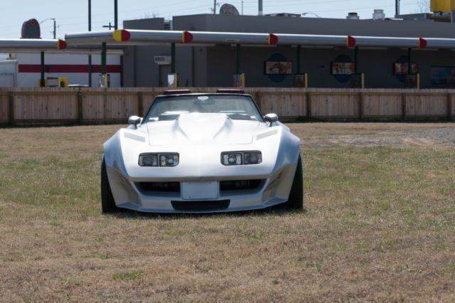Corvette Custom C Widebody Convertible Roadster V Not C C