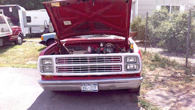 1979 dodge little red express truck used automatic pickup. Cars Review. Best American Auto & Cars Review