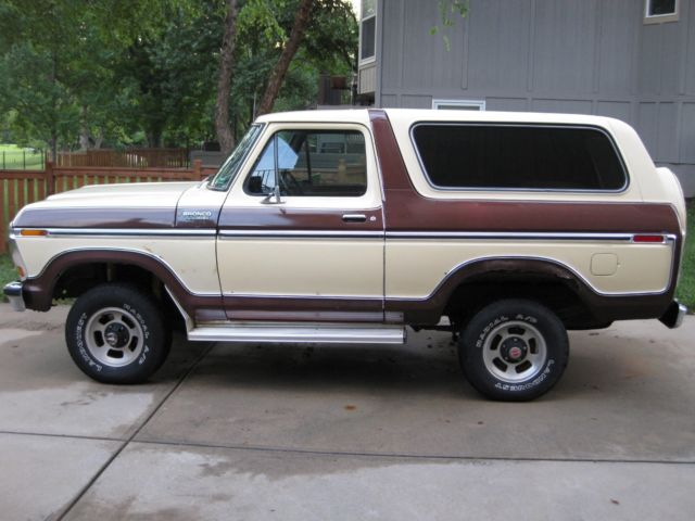 1979 ford bronco ranger xlt 52k original miles. Black Bedroom Furniture Sets. Home Design Ideas
