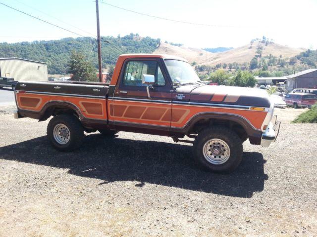 1979 ford f 150 ranger xlt 4x4 swb