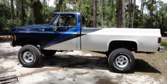 1979 GMC K10 4X4 Lifted COOL PICKUP TRUCK Long Bed Chevy ...