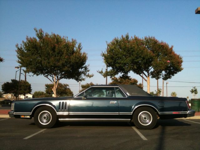 1979 lincoln continental mark v collector series cartier edition. Black Bedroom Furniture Sets. Home Design Ideas