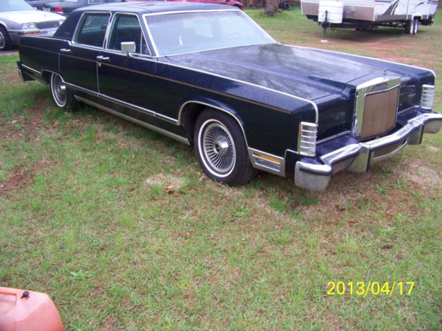 1979 Lincoln Continental Town Car Collectors Series