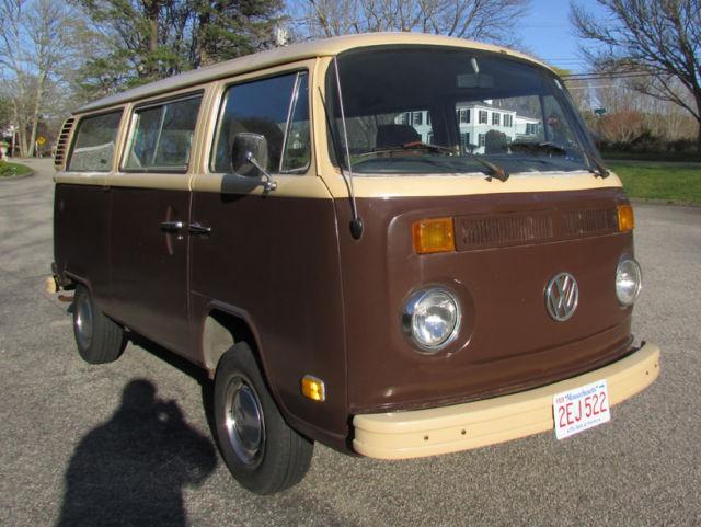1979 Volkswagen Van Bus Transporter Vw Type 2 Not Bug Beetle Thing