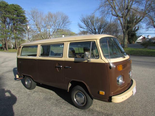 1979 Volkswagen Van Bus Transporter Vw Type 2 Not Bug